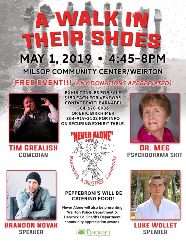 A Walk in Their Shoes May 2019