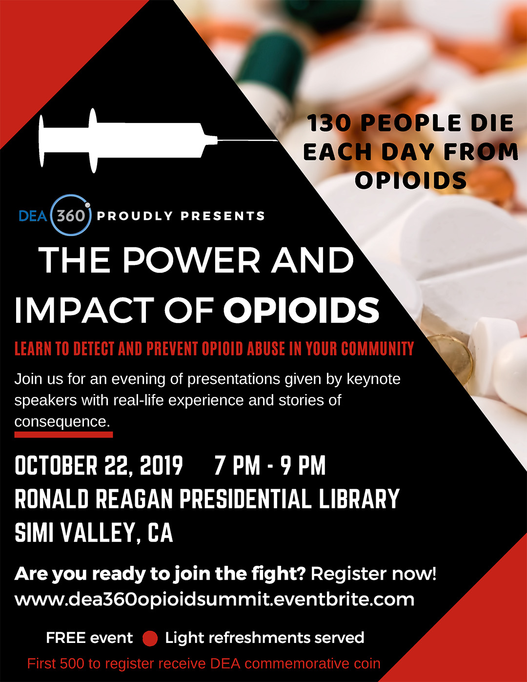 DEA360 OpioId Event Brandon Novak Speaker
