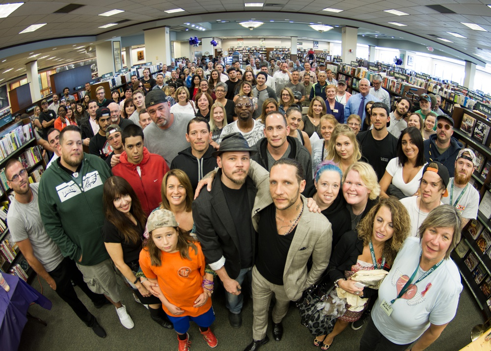 One Community One Concern with Brandon Novak Crowd