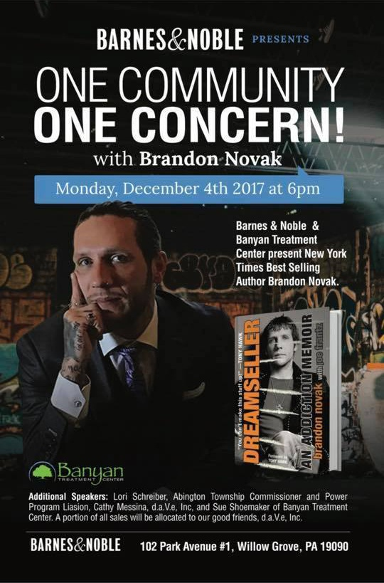 One Community One Concern with Brandon Novak December 2017