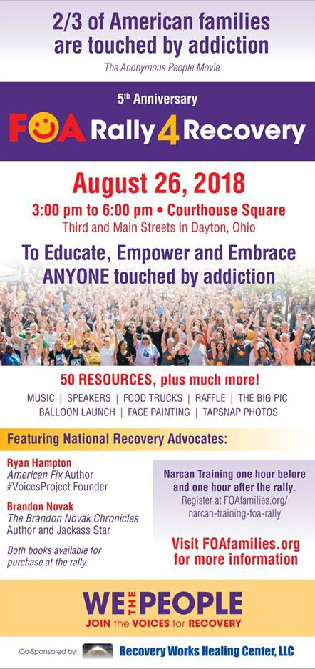 FOA Rally 4 Recovery August 2018