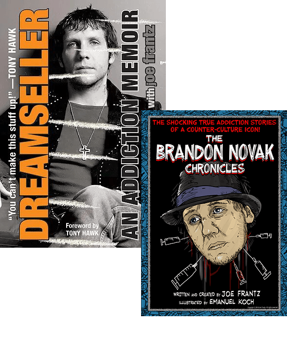 Brandon Novak Books